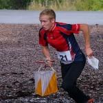 Мастер спорта Борис Попович на финише спартакиады городов в Петрозаводске