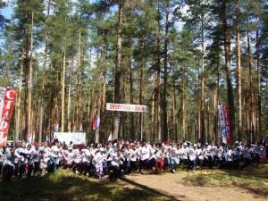 Российский Азимут 2008 в Окуловке на старте 500 человек